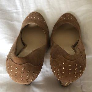Anne Klein suede shoes